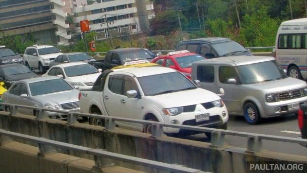thailand traffic