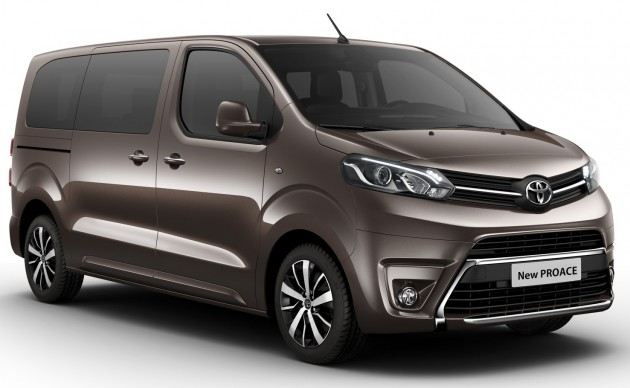 toyota proace citroen spacetourer peugeot traveller. Black Bedroom Furniture Sets. Home Design Ideas