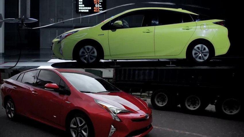 VIDEO: 2016 Toyota Prius – from green car to drift car Image #420404