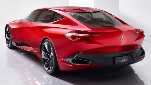 Acura Precision Concept 2016 - Rear 3-4