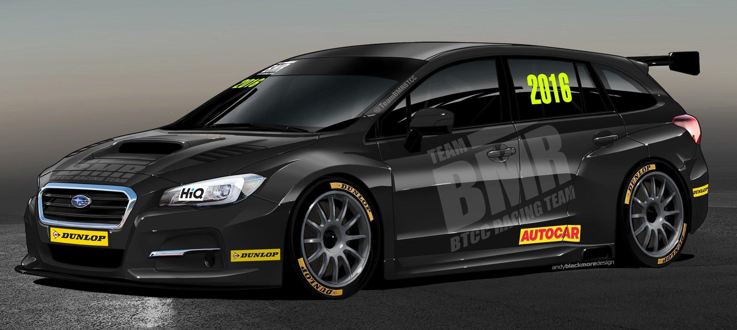 Subaru Levorg set to race in British Touring Car C'ship Image 428149