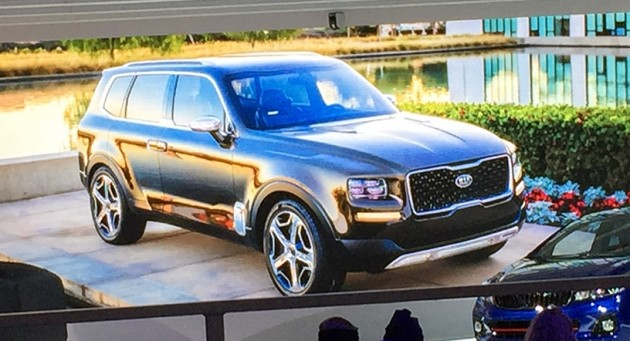 Kia Telluride Concept New Luxury Suv Gets Early Look