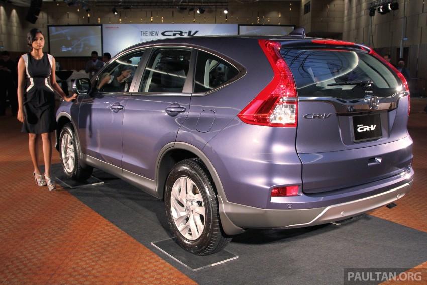 Honda CR-V 2.0 2WD kini didatangkan dengan tempat duduk balutan kulit – kos ekstra RM1k, jadi RM143k Image #433033