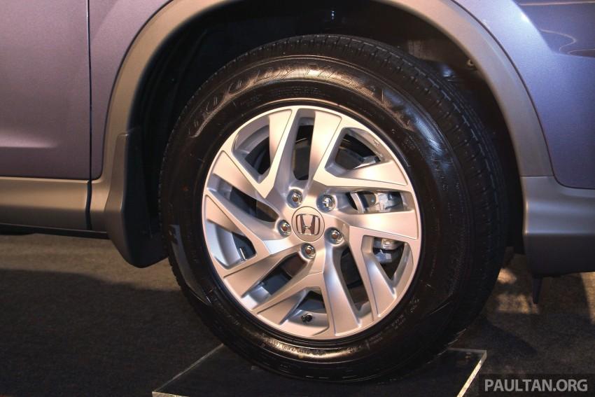 Honda CR-V 2.0 2WD kini didatangkan dengan tempat duduk balutan kulit – kos ekstra RM1k, jadi RM143k Image #433036