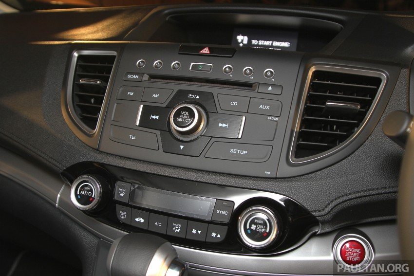 Honda CR-V 2.0 2WD kini didatangkan dengan tempat duduk balutan kulit – kos ekstra RM1k, jadi RM143k Image #433041