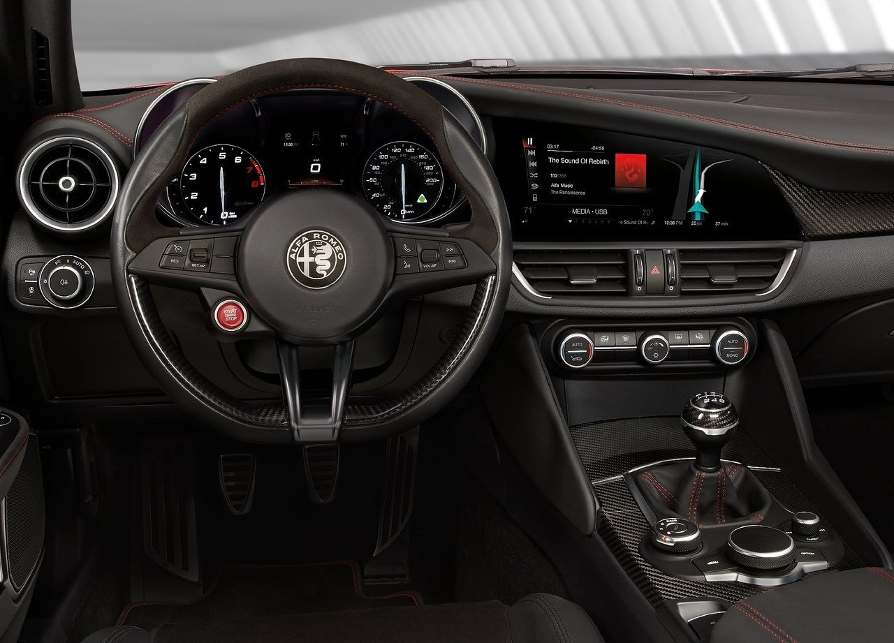 2016 Alfa Romeo Suv Interior Teased In Instagram Pix Paul Tan Sound Image 424895