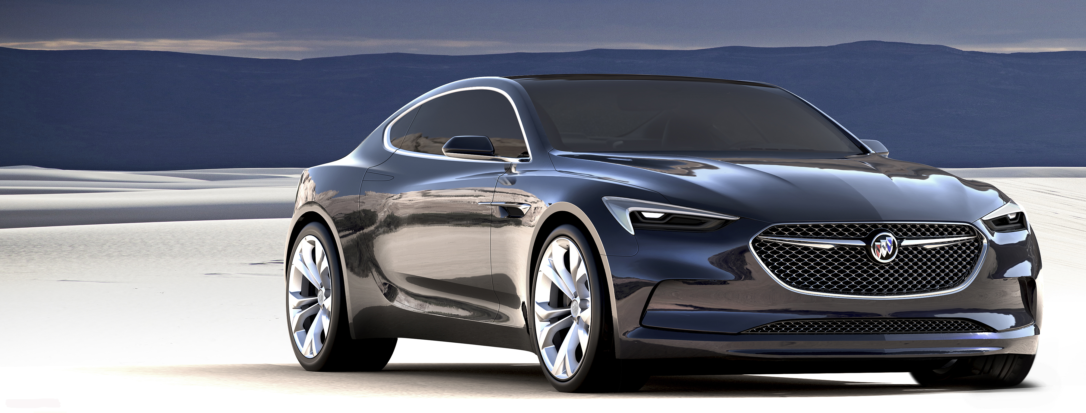 Back to Story: Buick Avista Concept hints at future V6, RWD coupe