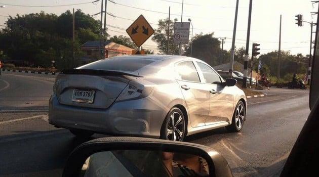 2016 Honda Civic Spy Thailand