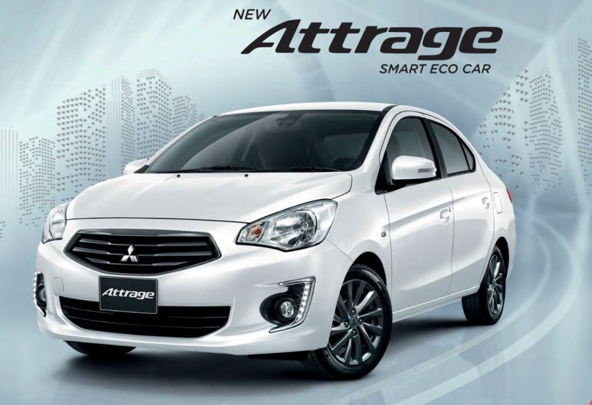 2016 Mitsubishi Attrage on sale in Thailand – new safety systems, improved 23.3 km/l fuel economy Image #431654