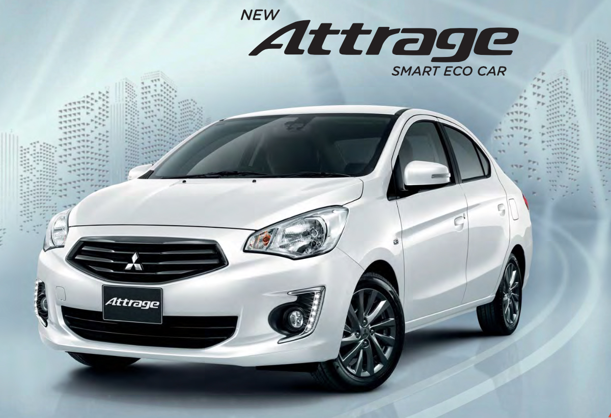 2017 Mitsubishi Mirage >> 2016 Mitsubishi Attrage now in Thailand - better FC, safety tech