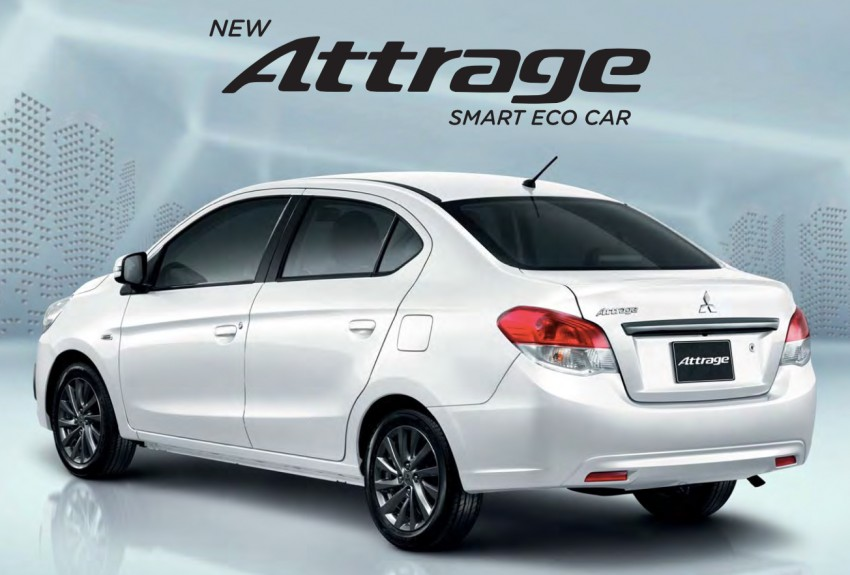 2016 Mitsubishi Attrage on sale in Thailand – new safety systems, improved 23.3 km/l fuel economy Image #431655