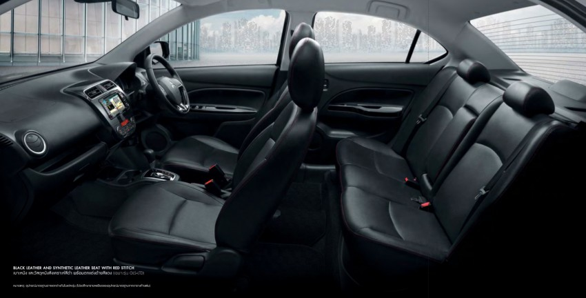 2016 Mitsubishi Attrage on sale in Thailand – new safety systems, improved 23.3 km/l fuel economy Image #431662