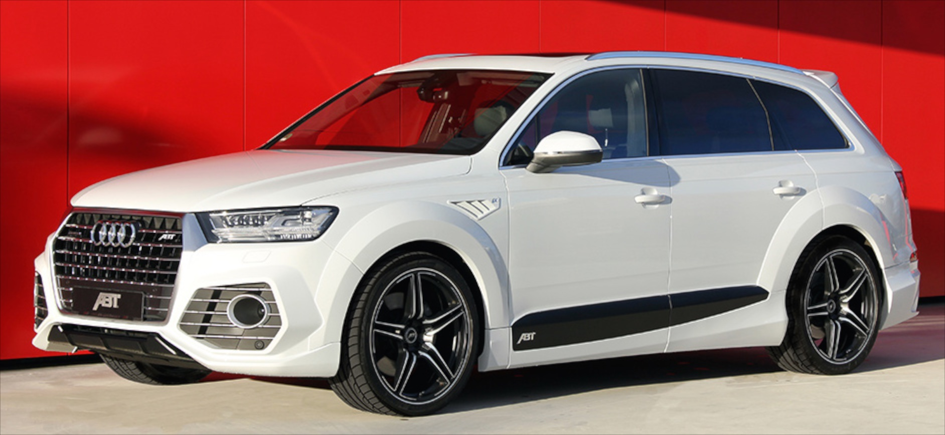 abt qs7 power and style upgrades for the audi q7. Black Bedroom Furniture Sets. Home Design Ideas