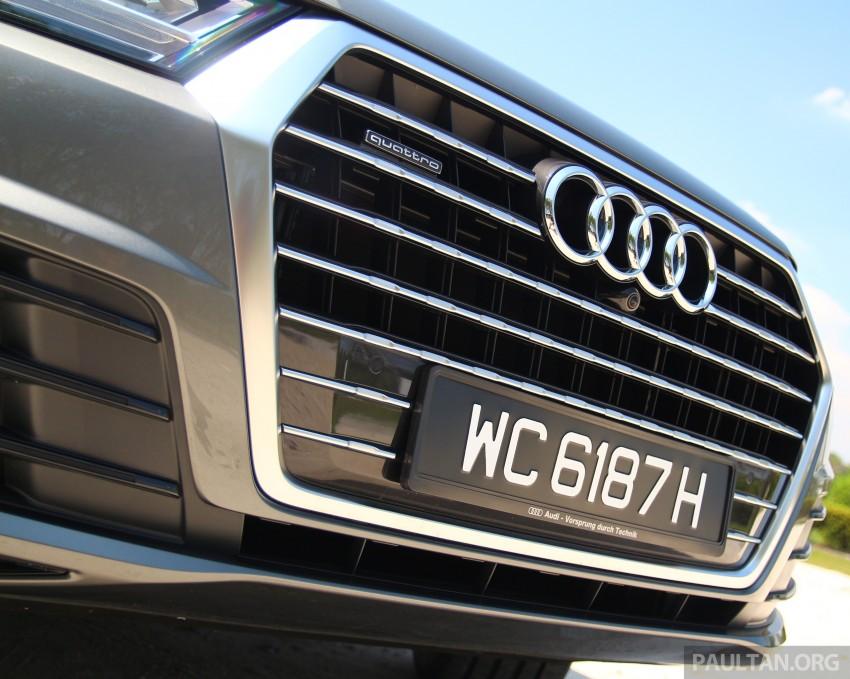 Driven 2016 Audi Q7 3 0 Tfsi Quattro In Malaysia Image 432031