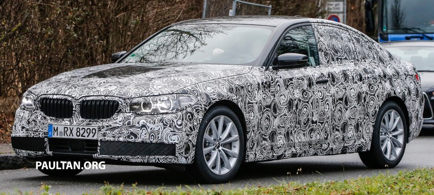SPYSHOTS: G30 BMW 5 Series prototype goes public Image #425580