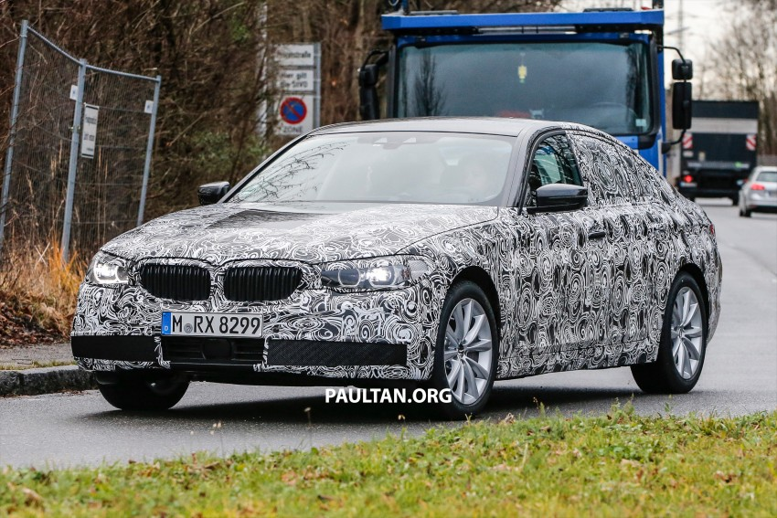 SPYSHOTS: G30 BMW 5 Series prototype goes public Image #425584
