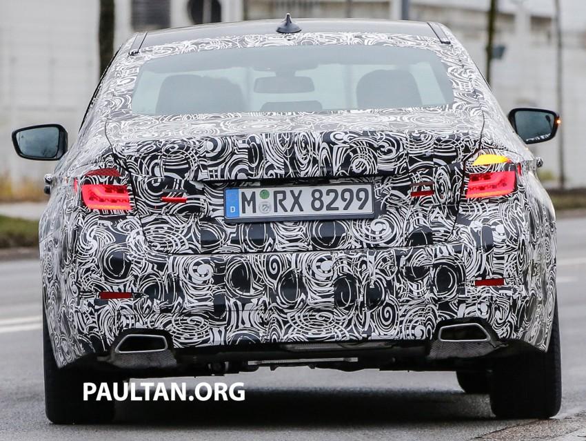 SPYSHOTS: G30 BMW 5 Series prototype goes public Image #425596