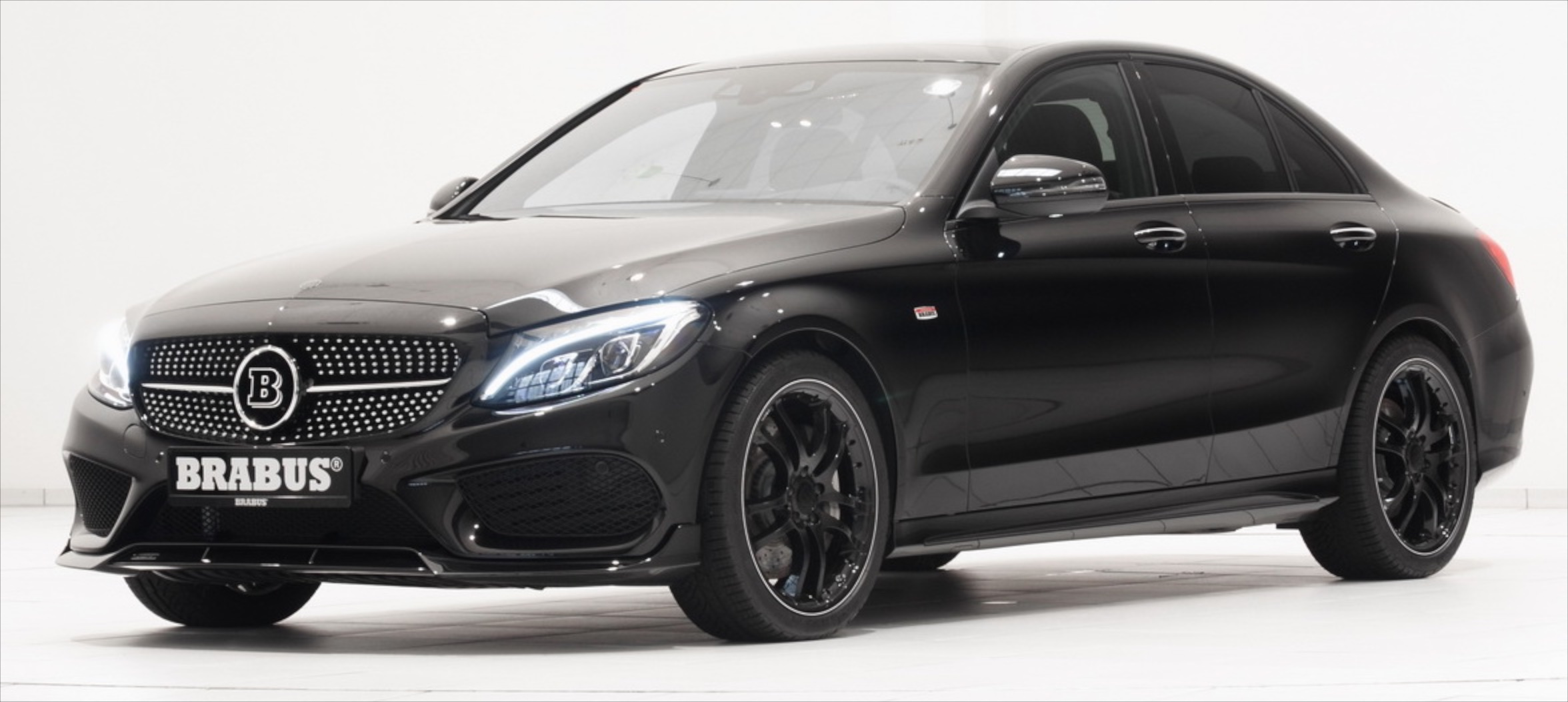 brabus tunes the merc c450 amg to 410 hp 570 nm and confirms the mercedes amg c43 badge. Black Bedroom Furniture Sets. Home Design Ideas