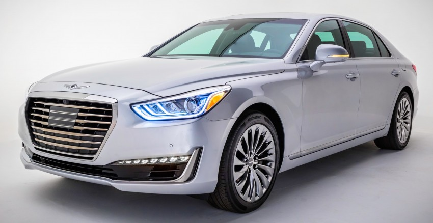 Genesis G90 flagship makes North American debut Image #427751
