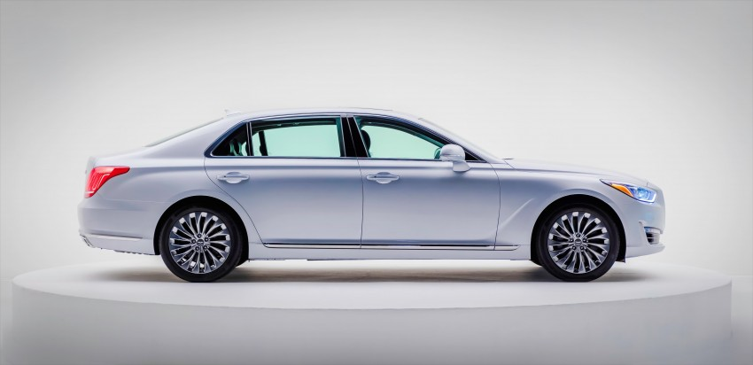 Genesis G90 flagship makes North American debut Image #427753