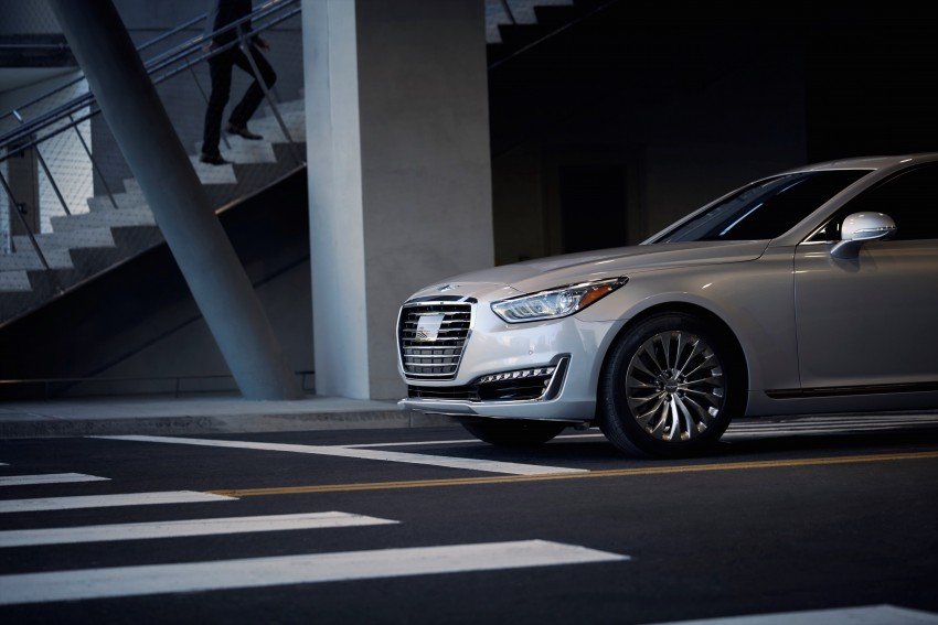 Genesis G90 flagship makes North American debut Image #427760
