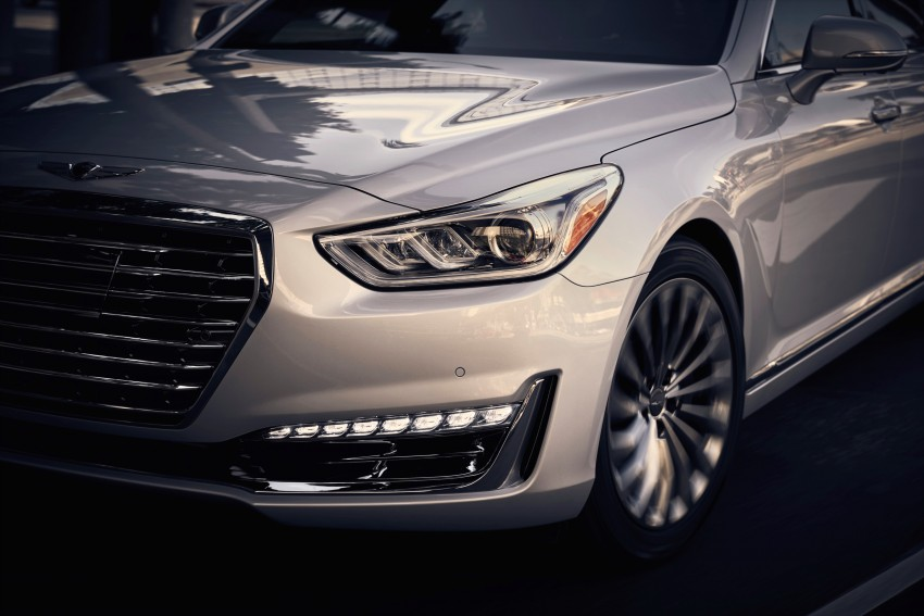 Genesis G90 flagship makes North American debut Image #427787