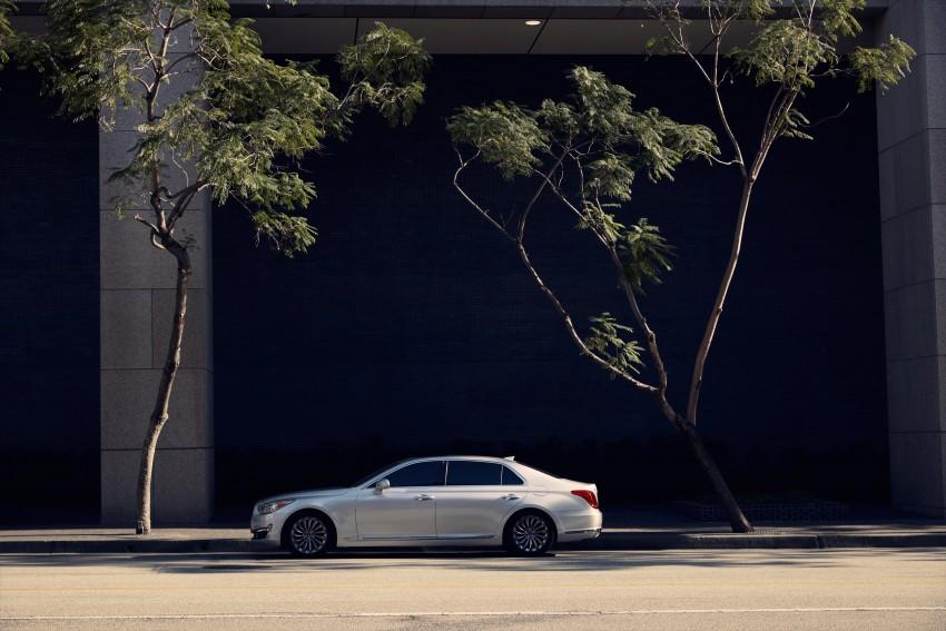 Genesis G90 flagship makes North American debut Image #427855