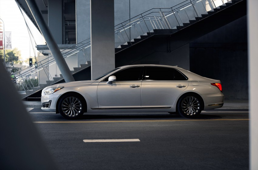 Genesis G90 flagship makes North American debut Image #427856