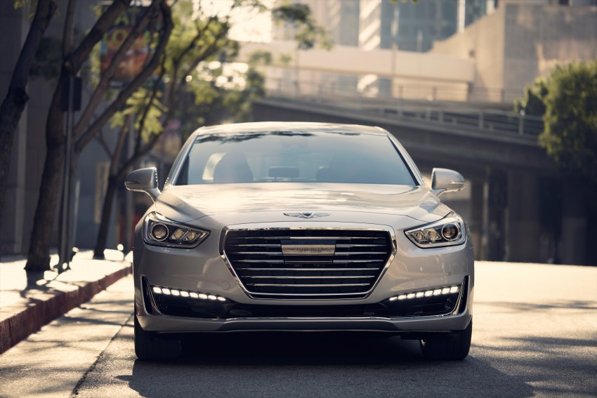 Genesis G90 flagship makes North American debut Image #427857