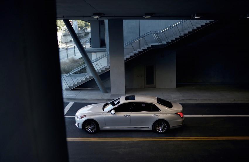 Genesis G90 flagship makes North American debut Image #427864