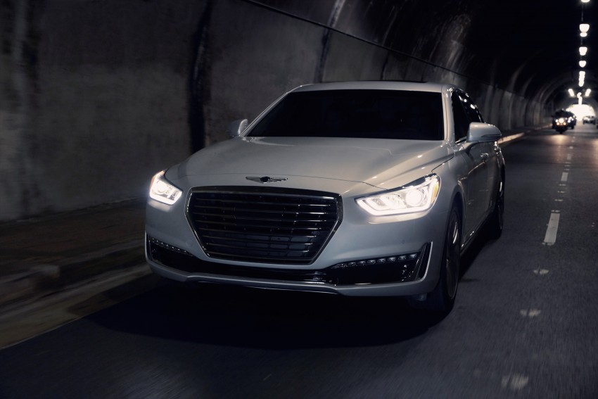 Genesis G90 flagship makes North American debut Image #427871