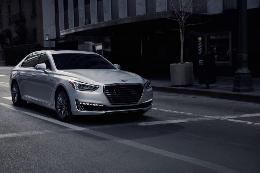 Genesis G90 flagship makes North American debut Image #427873