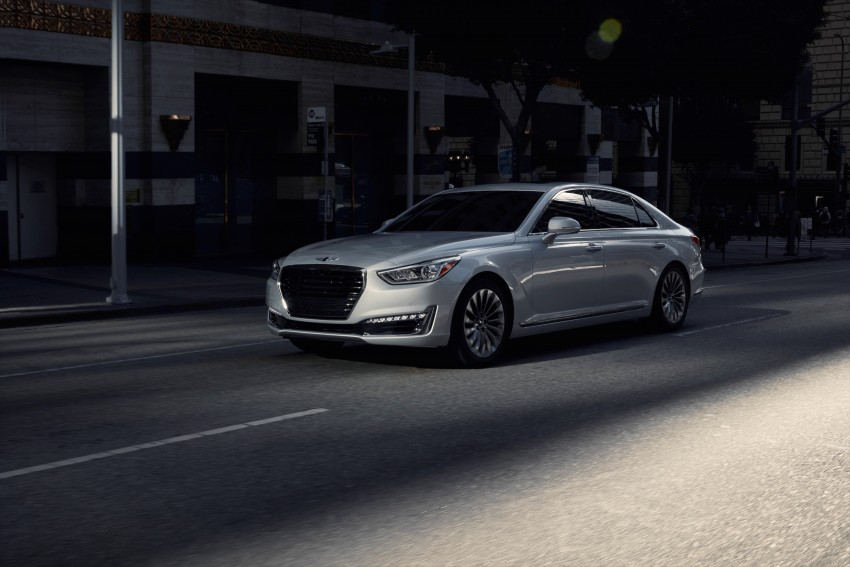 Genesis G90 flagship makes North American debut Image #427875