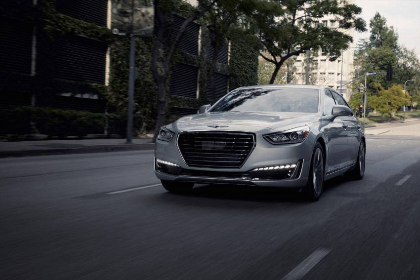 Genesis G90 flagship makes North American debut Image #427878
