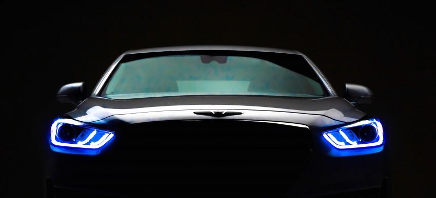 Genesis G90 flagship makes North American debut Image #427882