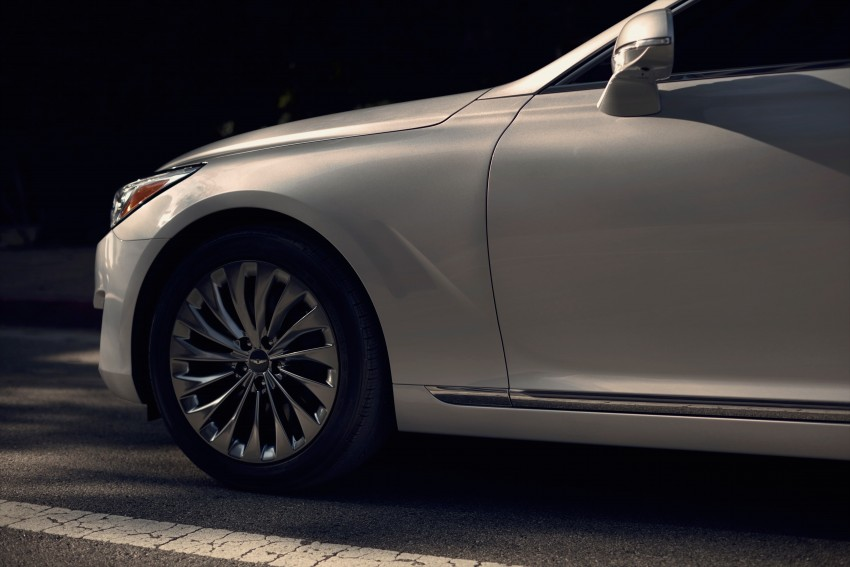 Genesis G90 flagship makes North American debut Image #427883