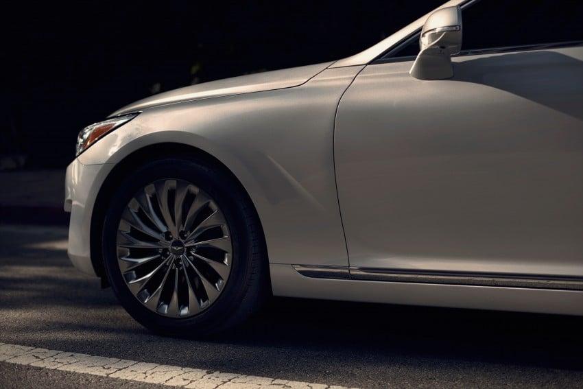 Genesis G90 flagship makes North American debut Image #427883