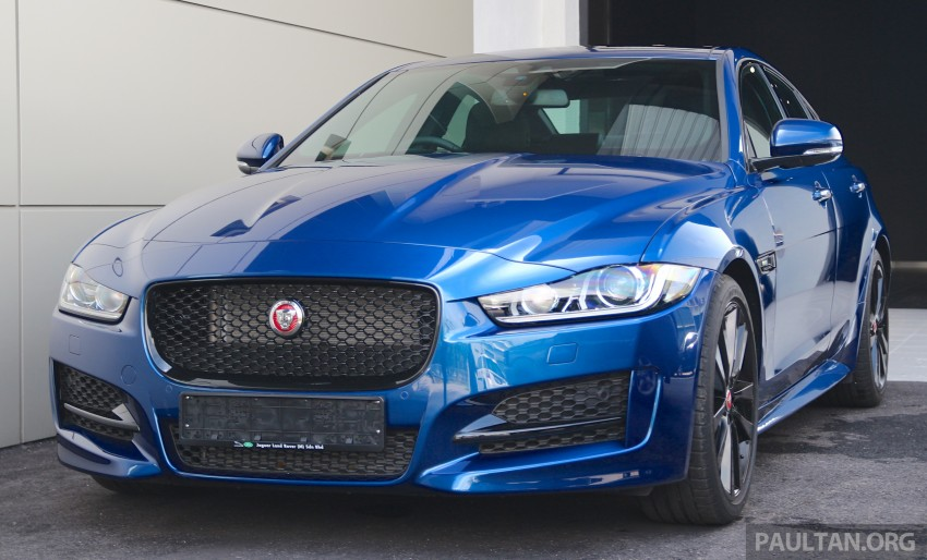 Jaguar XE debuts in Malaysia – 2.0, 3.0, from RM341k Image #435284