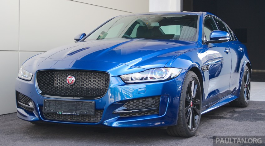 Jaguar XE debuts in Malaysia – 2.0, 3.0, from RM341k Image #435285
