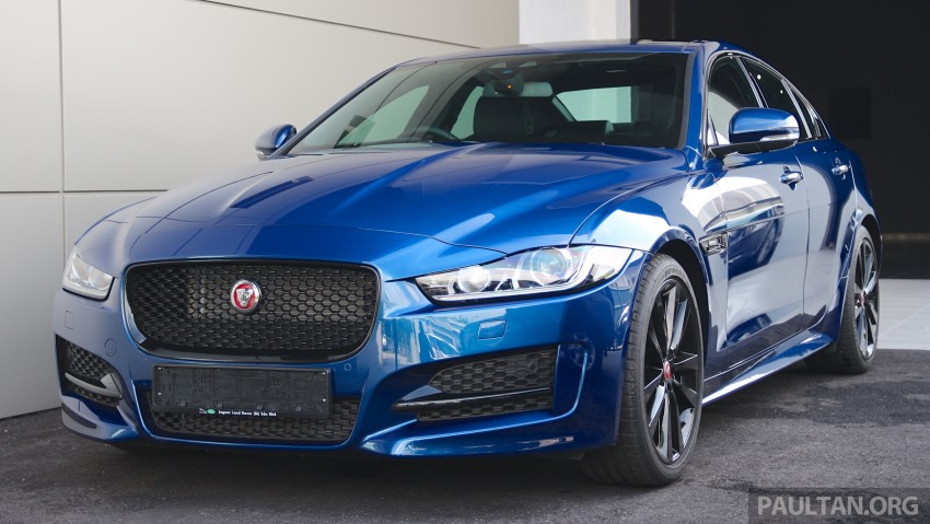 Jaguar XE debuts in Malaysia – 2.0, 3.0, from RM341k Image #435286