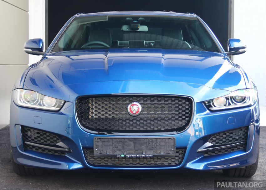 Jaguar XE debuts in Malaysia – 2.0, 3.0, from RM341k Image #435290