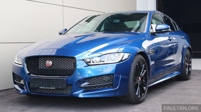 Jaguar XE debuts in Malaysia – 2.0, 3.0, from RM341k Image #435337