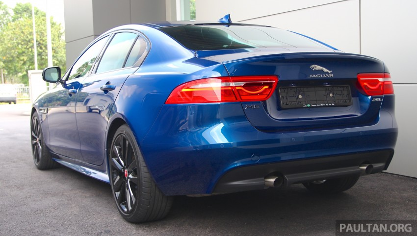 Jaguar XE debuts in Malaysia – 2.0, 3.0, from RM341k Image #435338