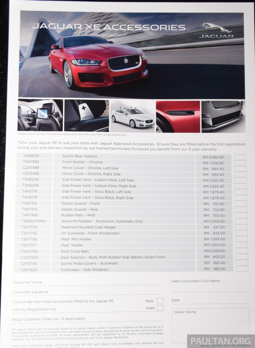 Jaguar XE debuts in Malaysia – 2.0, 3.0, from RM341k Image #435544