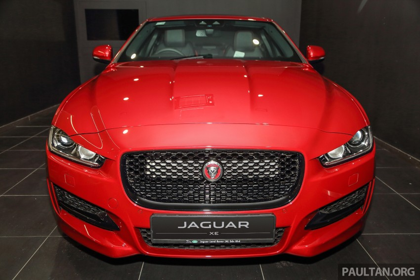 Jaguar XE debuts in Malaysia – 2.0, 3.0, from RM341k Image #435394