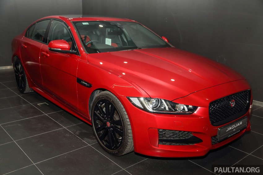 Jaguar XE debuts in Malaysia – 2.0, 3.0, from RM341k Image #435395