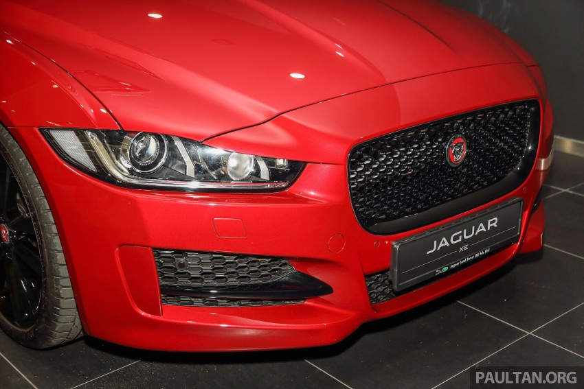 Jaguar XE debuts in Malaysia – 2.0, 3.0, from RM341k Image #435396