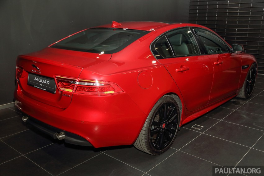 Jaguar XE debuts in Malaysia – 2.0, 3.0, from RM341k Image #435412