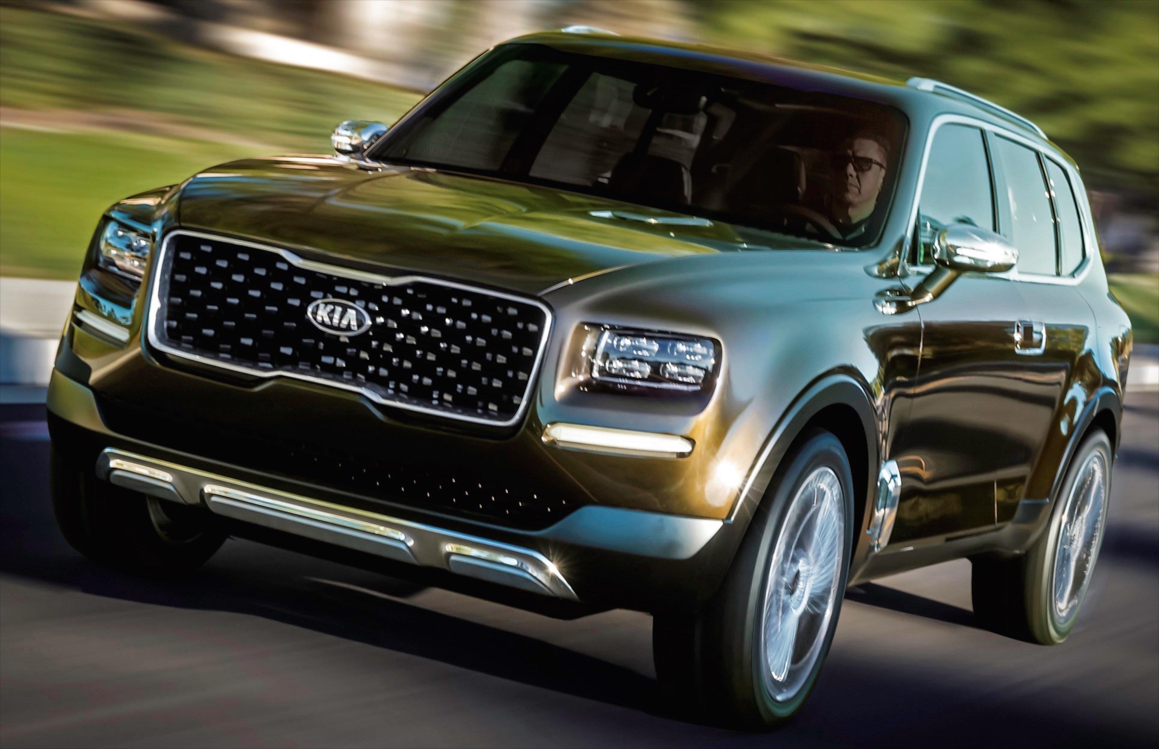 Suv >> Kia Telluride concept previews premium 7-seat SUV Paul Tan - Image 427533