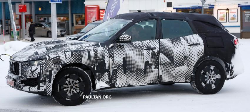 SPYSHOTS: Maserati Levante – interior finally revealed Image #434559